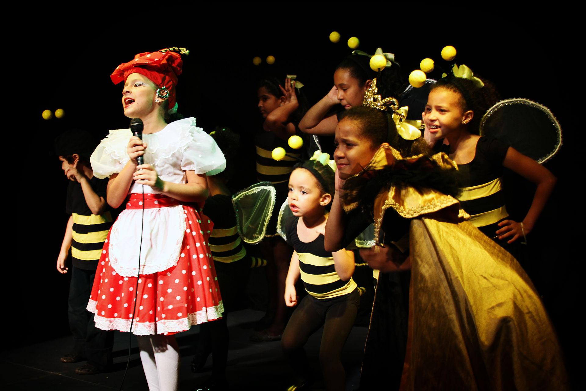 Children-performing