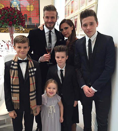 the-beckham-family